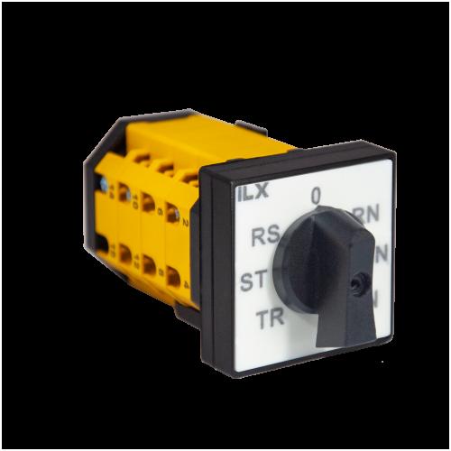 İLX F tipi Voltmetre Komütatörleri
